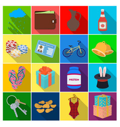 Restaurant travel medicine and other web icon in vector