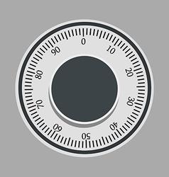 Safe lock vector image vector image