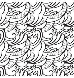 Sketchy doodles decorative outline ornamental vector