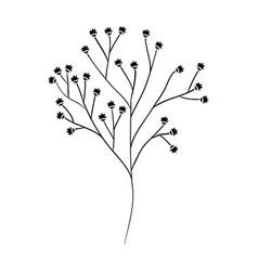 Beautiful flower icon vector