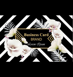 business luxury card modern abstract vector image vector image