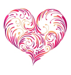 design heart vector image vector image