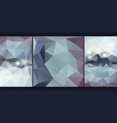 Poligon Background vector image vector image