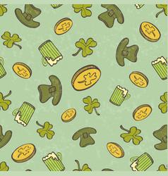 Saint patricks day pattern vector
