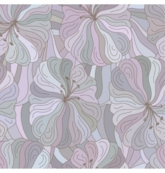 Seamless floral pattern boho style design vector