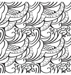 Sketchy doodles decorative outline ornamental vector