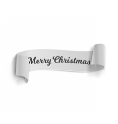 Marry Christmas Banner Template Isolated vector image
