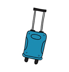 Luggage hand drawn vector