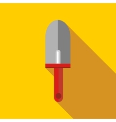Gardening trowel icon flat style vector