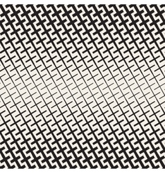 Cross shapes halftone lattice seamless vector