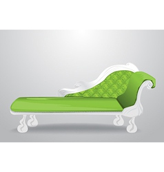 Lounger vector image