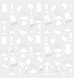 background lamp vector image