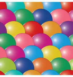 Abstract bubbles multicolor background seaml vector