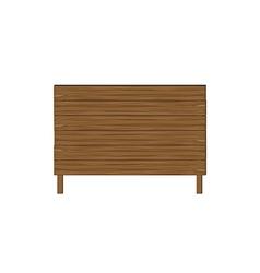 Empty wooden boards vector image