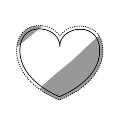 Heart love symbol vector