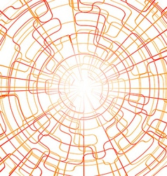 Abstract Lines Technology Background vector image