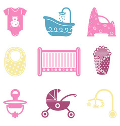 baby things vector image