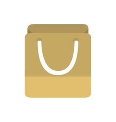 Bag gift paper shop online symbol vector
