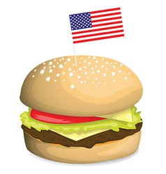 Burger design vector image