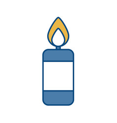 Candle icon image vector