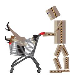 Sale Shopping Conceptual vector image