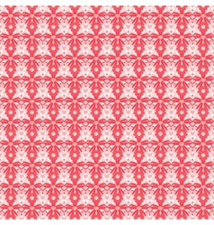 Abstract flower pattern wallpaper vector image