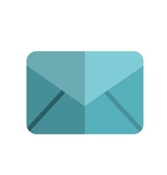 Mail object icon vector