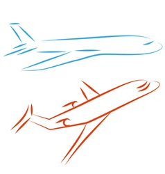 Airline icon vector