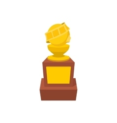 Movie award cartoon icon vector image