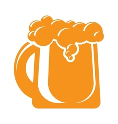 mug of beer icon sign design element vector image vector image