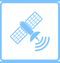 Satellite icon vector