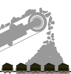 Coal industry 1 vector