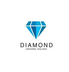 diamond logo premium vector image