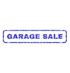 Garage sale rubber stamp vector