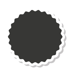 Circle frame elegant icon vector