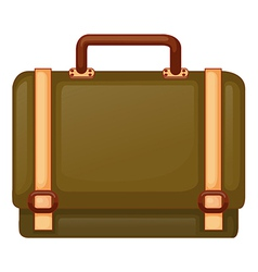 A big travelling bag vector image