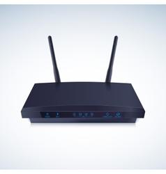 Realisti Wireless Router vector image