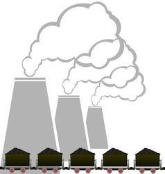 Coal industry 2 vector