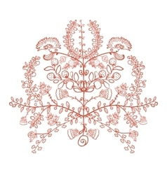 Ukrainian traditional symbol the tree of life vector