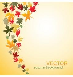 autumn 02 vector image