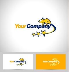 Chameleon Logo Design vector image vector image
