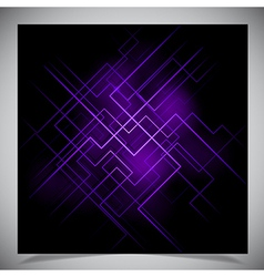 Smooth colorful abstract techno background vector image vector image