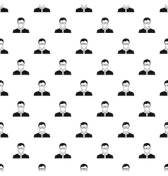 Teacher pattern simple style vector