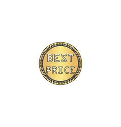 Best price computer symbol vector