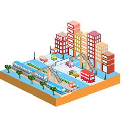 3d city vector