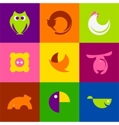 Original animals vector