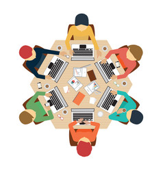 business meeting design1 vector image