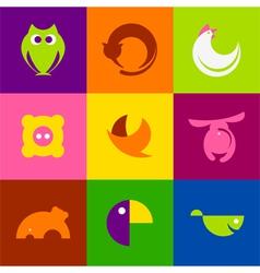 Original animals vector image