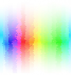 Abstract background rainbow vector