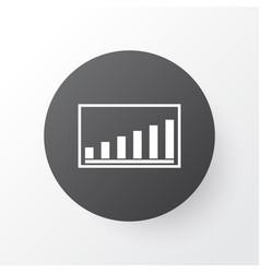 Project presentation icon symbol premium quality vector